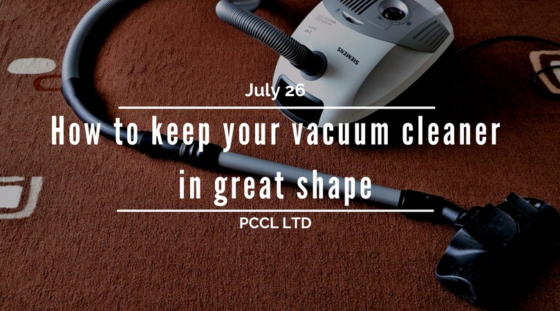 Maintain Your Vacuum Cleaner